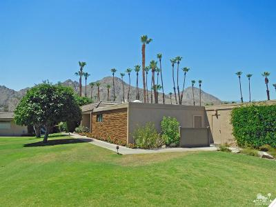 Indian Wells Condo/Townhouse Sold: 45510 Pawnee Road