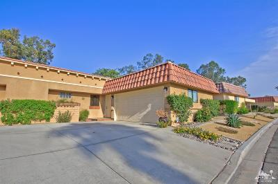 Palm Desert Condo/Townhouse Sold: 40481 Pebble Beach Circle #12-5