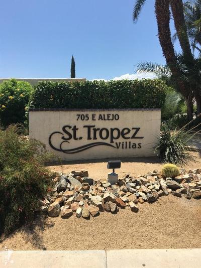Palm Springs Condo/Townhouse For Sale: 411 Rio Vista