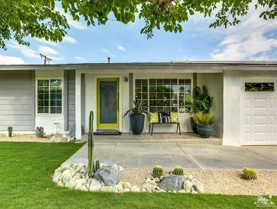 Palm Springs Single Family Home Contingent: 2960 North Chuperosa Road