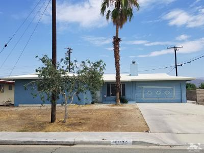 Indio Single Family Home For Sale: 81120 Francis Avenue