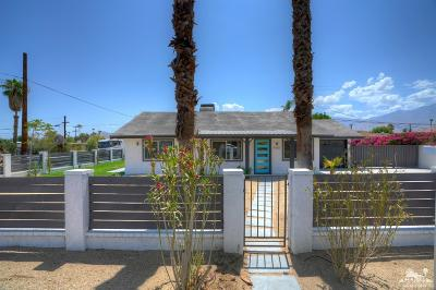 Palm Springs Single Family Home Contingent: 4283 East Calle San Antonio