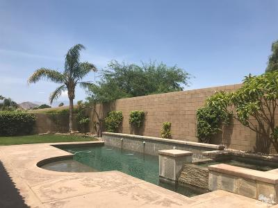 Indio Single Family Home Contingent: 80940 Gentle Breeze Drive