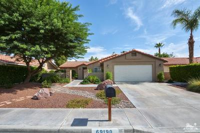 Cathedral City Single Family Home Contingent: 69190 San Susanna Avenue