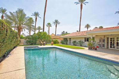 Indian Wells Single Family Home Contingent: 75474 Palm Shadow Drive
