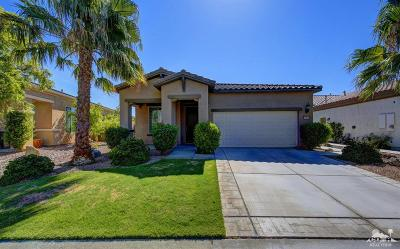 Sun City Shadow Hills Single Family Home Contingent: 81902 Avenida Estuco