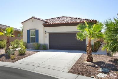 Sun City Shadow Hills Single Family Home Contingent: 38980 Corte Septima