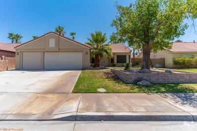 Palm Desert Country Single Family Home Contingent: 42610 Hastings Street