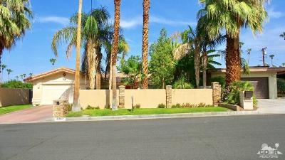 Palm Desert Single Family Home Sold: 45862 Shadow Mountain