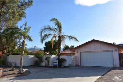Cathedral City Single Family Home Contingent: 33905 Cathedral Canyon Drive