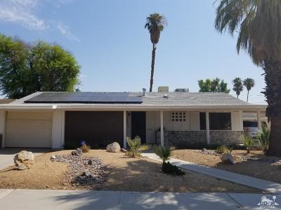 Palm Desert Single Family Home Contingent: 42340 Kansas Street