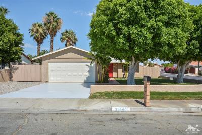 Cathedral City Single Family Home For Sale: 31440 Avenida La Gaviota