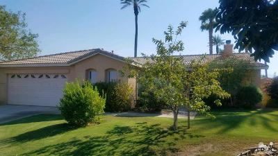 Indio Single Family Home Contingent: 83275 Calypso Circle