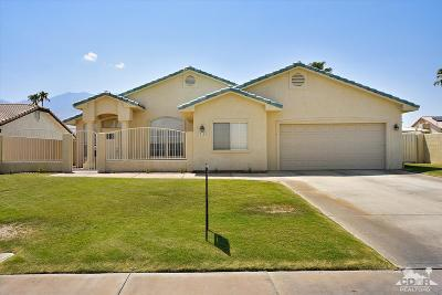 Cathedral City Single Family Home For Sale: 27185 Landau Boulevard