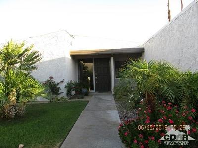 Rancho Mirage Single Family Home Contingent: 19 Kevin Lee Lane