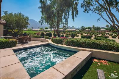 La Quinta Single Family Home Sold: 61055 Desert Rose Drive
