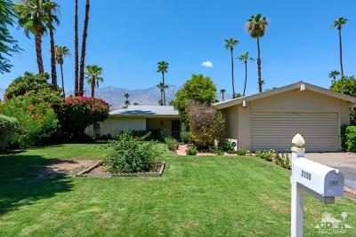 Palm Springs Single Family Home For Sale: 2155 South Broadmoor Drive