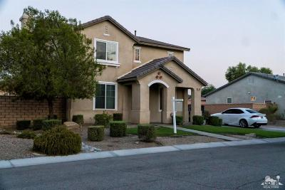 Indio Single Family Home For Sale: 37303 Sandwell Street