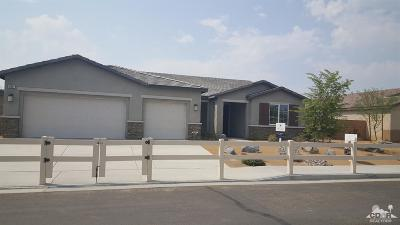 Indio Single Family Home For Sale: 82887 Wordsworth Court