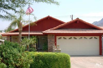 La Quinta Single Family Home For Sale: 52400 Avenida Navarro