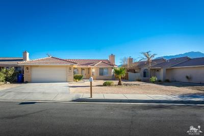 Desert Hot Springs CA Single Family Home For Sale: $229,900