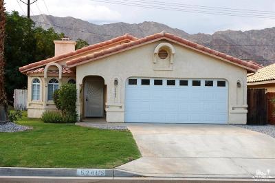 La Quinta Single Family Home For Sale: 52485 Avenida Navarro