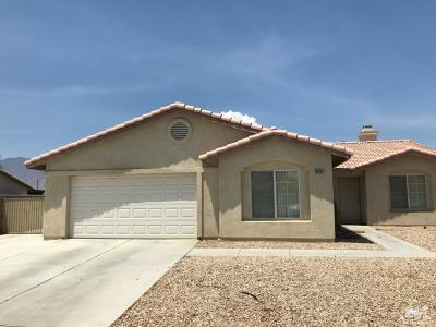 Cathedral City Single Family Home Contingent: 30067 Alexander Drive