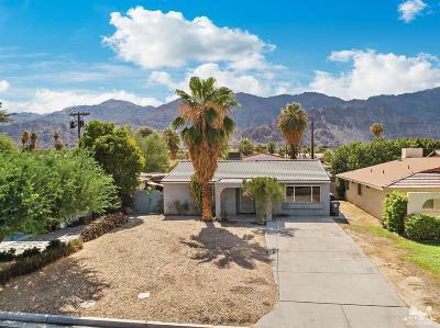 La Quinta Single Family Home Sold: 52433 Avenida Villa