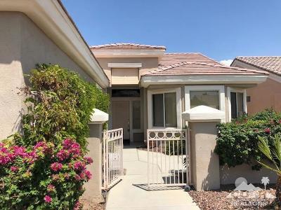 Sun City Single Family Home Sold: 78568 Sunrise Canyon Avenue