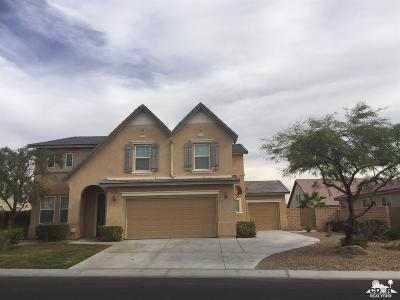 Indio Single Family Home For Sale: 37290 Stratford Street