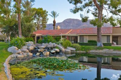 Rancho Mirage Condo/Townhouse Sold: 68 Tennis Club Drive