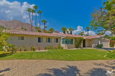 Palm Springs Single Family Home For Sale: 1175 Camino Mirasol