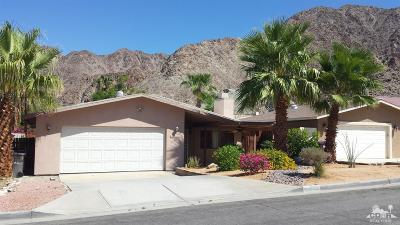 La Quinta Single Family Home For Sale: 54200 Avenida Mendoza