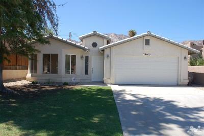La Quinta Cove Single Family Home For Sale: 53165 Avenida Velasco