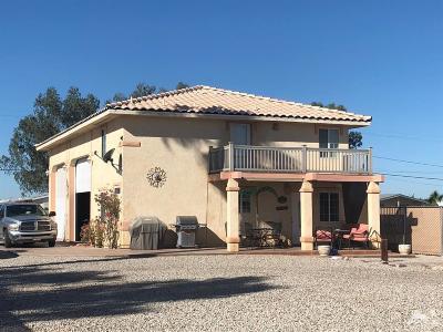 Blythe Single Family Home For Sale: 5740 Colorado River Road