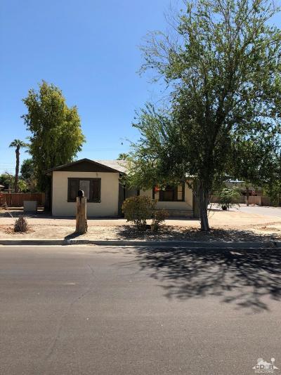 Indio Single Family Home For Sale: 82469 Valencia Avenue