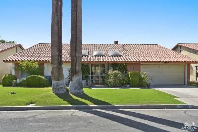 Cathedral City Single Family Home Contingent: 35909 Ottawa Street