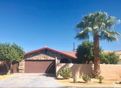 La Quinta Single Family Home For Sale: 78670 Saguaro Road