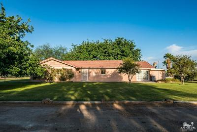 Blythe Single Family Home For Sale: 4251 N Intake Boulevard