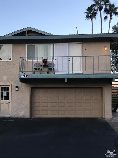 Palm Desert Condo/Townhouse For Sale: 72667 Raven Road #4