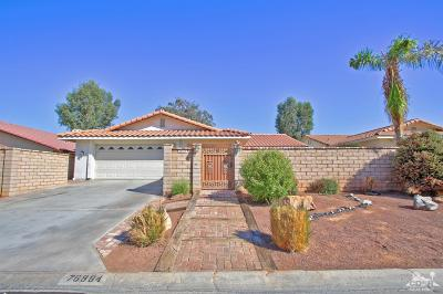 Palm Desert Country Single Family Home Contingent: 76884 California Drive
