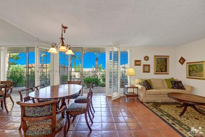 Rancho Mirage Condo/Townhouse Contingent: 42278 Dunes View Road #27