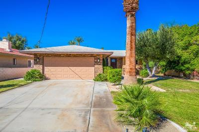 Palm Desert Country Single Family Home Contingent: 43235 Texas Avenue