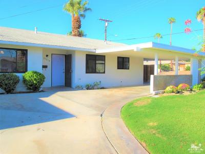 Palm Desert Country Single Family Home Contingent: 77215 Indiana Avenue