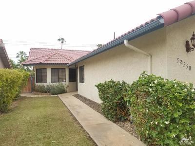 La Quinta Cove Single Family Home For Sale: 52350 Avenida Diaz
