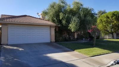 Cathedral City Single Family Home Contingent: 30577 Hampton Court
