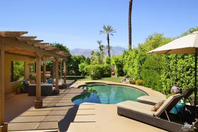 Rancho Mirage Single Family Home Contingent: 70840 Jasmine Lane