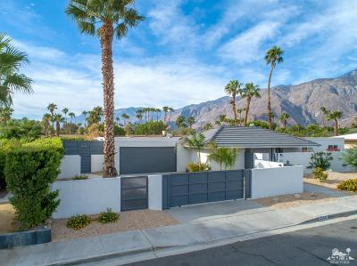 Palm Springs Single Family Home For Sale: 1255 East Racquet Club Road