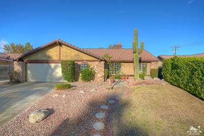 Cathedral City Single Family Home Contingent: 28085 Avenida Maravilla