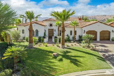Rancho Mirage Single Family Home Contingent: 27 Cassis Circle